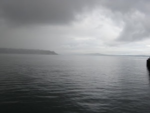 Day 1 - A cloudy pic across the puget sound