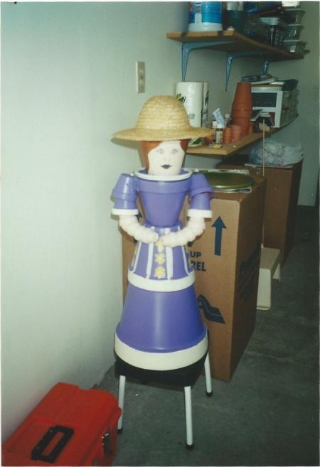 Flowerpot Lady