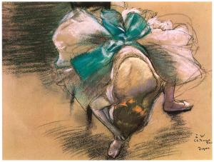 dancer-tying-her-shoe-ribbons-edgar-degas